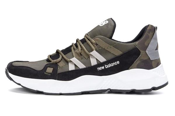 Мужские кроссовки New Balance зеленые (olive)