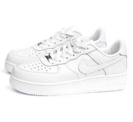 Купить Мужские кроссовки Nike Air Force 1 белые (white)
