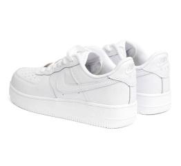 Купить Мужские кроссовки Nike Air Force 1 белые (white) в Украине