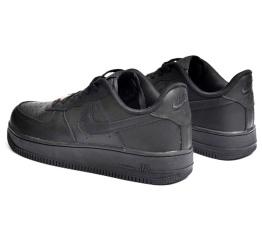 Купить Мужские кроссовки Nike Air Force 1 черные (black) в Украине