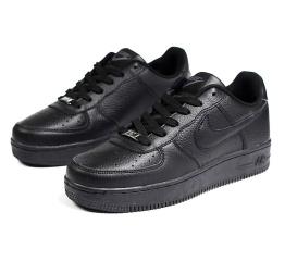 Купить Чоловічі кросівки Nike Air Force 1 чорні