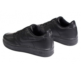 Купить Чоловічі кросівки Nike Air Force 1 чорні в Украине