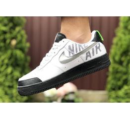 Купить Мужские кроссовки Nike Air Force 1 low белые с черным в Украине