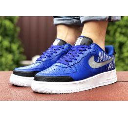 Купить Мужские кроссовки Nike Air Force 1 low синие