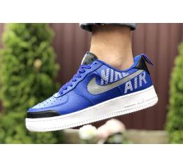 Купить Мужские кроссовки Nike Air Force 1 low синие в Украине