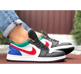 Купить Мужские кроссовки Nike Air Jordan 1 Retro Low многоцветные