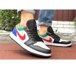 Купить Мужские кроссовки Nike Air Jordan 1 Retro Low многоцветные в Украине
