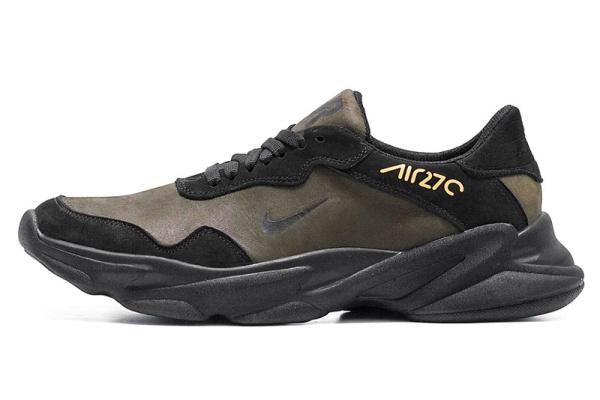 Мужские кроссовки Nike Air Max 270 темно-зеленые
