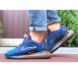 Купить Мужские кроссовки Nike Air Max 720 синие с красным