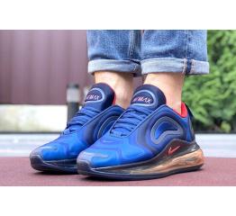 Купить Мужские кроссовки Nike Air Max 720 синие с красным в Украине