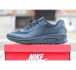 Купить Мужские кроссовки Nike Air Max 90 Hyperfuse темно-синие