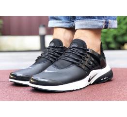 Мужские кроссовки Nike Air Presto черные с белым