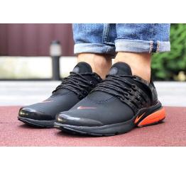 Купить Чоловічі кросівки Nike Air Presto чорні з помаранчевим в Украине