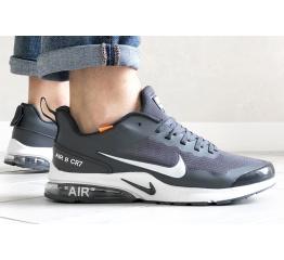 Купить Мужские кроссовки Nike Air Presto CR7 серые с белым