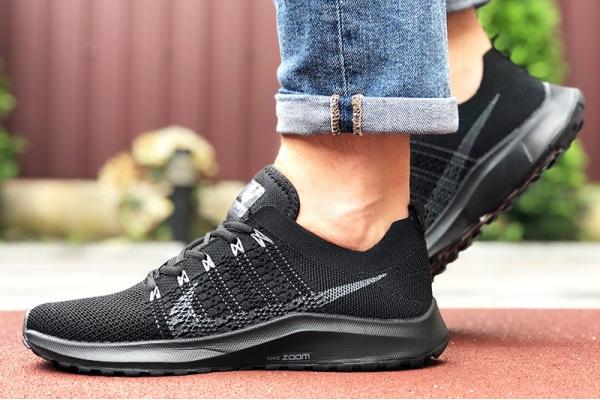 Мужские кроссовки Nike Air Zoom черные