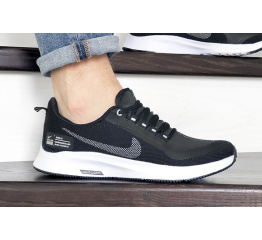 Купить Мужские кроссовки Nike Air Zoom Pegasus 35 Shield черные с белым