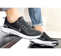 Купить Мужские кроссовки Nike Air Zoom Pegasus 35 Shield черные с белым в Украине