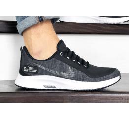 Купить Чоловічі кросівки Nike Air Zoom Pegasus 35 Shield чорні з білим