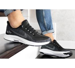 Купить Чоловічі кросівки Nike Air Zoom Pegasus 35 Shield чорні з білим в Украине