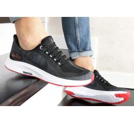 Купить Чоловічі кросівки Nike Air Zoom Pegasus 35 Shield чорні з білим и красным в Украине