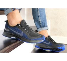 Купить Чоловічі кросівки Nike Air Zoom Pegasus 35 Shield темно-сині з чорним в Украине