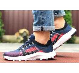 Купить Мужские кроссовки Nike Air Zoom темно-синие с красным