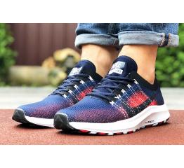 Купить Мужские кроссовки Nike Air Zoom темно-синие с красным в Украине