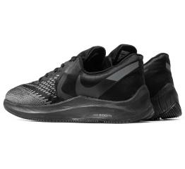 Купить Чоловічі кросівки Nike Air Zoom Winflo 6 чорні в Украине