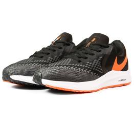 Купить Мужские кроссовки Nike Air Zoom Winflo 6 черные с серым и оранжевым