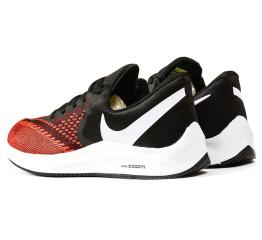 Купить Чоловічі кросівки Nike Air Zoom Winflo 6 червоні з чорним в Украине