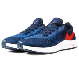 Купить Мужские кроссовки Nike Air Zoom Winflo 6 темно-синие