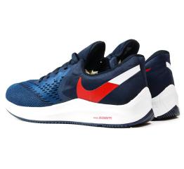 Купить Мужские кроссовки Nike Air Zoom Winflo 6 темно-синие в Украине