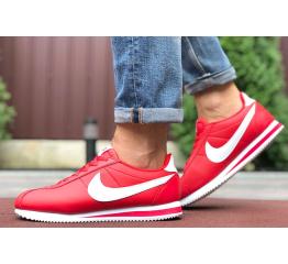 Купить Мужские кроссовки Nike Classic Cortez Leather красные