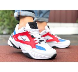 Купить Мужские кроссовки Nike M2K Tekno белые с красным и синим