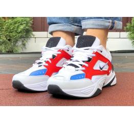Купить Мужские кроссовки Nike M2K Tekno белые с красным и синим в Украине