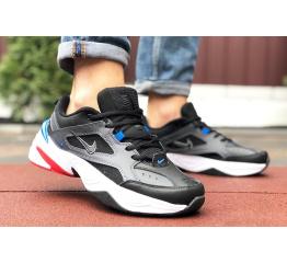Купить Мужские кроссовки Nike M2K Tekno черные с белым и синим