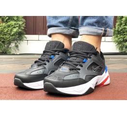 Купить Мужские кроссовки Nike M2K Tekno черные с белым и синим в Украине