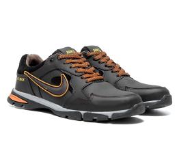 Купить Мужские кроссовки Nike темно-коричневые в Украине