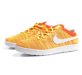 Купить Мужские кроссовки Nike Tennis Classic Ultra Flyknit оранжевые (orange)