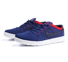 Купить Мужские кроссовки Nike Tennis Classic Ultra Flyknit темно-синие (dk blue)