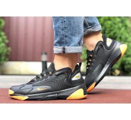 Мужские кроссовки Nike Zoom 2K черные с оранжевым