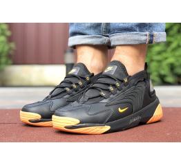 Купить Чоловічі кросівки Nike Zoom 2K чорні з помаранчевим в Украине