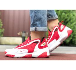 Купить Мужские кроссовки Nike Zoom 2K красные с белым