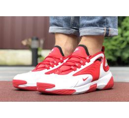 Купить Мужские кроссовки Nike Zoom 2K красные с белым в Украине