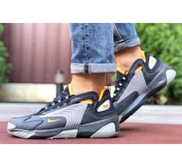 Купить Чоловічі кросівки Nike Zoom 2K темно-сині з сірим