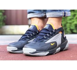 Купить Чоловічі кросівки Nike Zoom 2K темно-сині з сірим в Украине