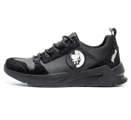 Купить Мужские кроссовки Pitbull черные (black)