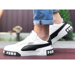 Купить Мужские кроссовки Puma Cali Remix Mn's белые с черным