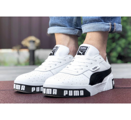 Мужские кроссовки Puma Cali Remix Mn's белые с черным