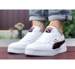 Купить Мужские кроссовки Puma Cali Remix Mn's белые с черным и красным в Украине